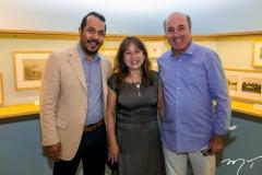 Antônio Almeida, Sofia Fan e Silvio Frota