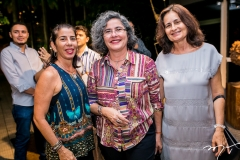 Cristina Romcy, Fernanda Rocha e Flora Lima