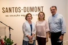 Fátima Veras, Lenise Rocha e Randal Pompeu