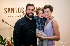 Felipe e Bento Rocha e Paulinha Sampaio