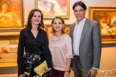 Glaucia Andrade, Lenise Rocha e Wilson Loureiro