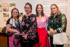 Jaqueline Praciano, Paula Frota, Carlota Fiúza e Cristina Lobo