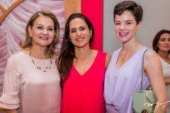 Lenise Rocha, Manoela Bacelar e Paulinha Sampaio