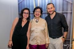 Marina Mesquita, Dodora Guimarães e Thiago Braga