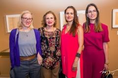 Mirela Rappaport, Renata Jereissati, Manoela Bacelar e Marilia Queiroz