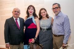 Philomeno, Gina Pompeu, Rosa e Robério Braga