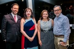 Rafael Xerez, Gina Pompeu, Rosa e Robério Braga