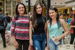 Diana Candido, Priscilandia Rodriguês e Elânia Kelly