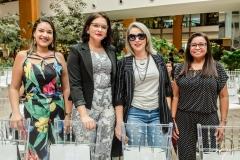 Karina Araújo, Tatiane Pinheiro, Mileide Layde Brasil e Célia Queiroz