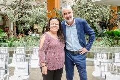Manuela Monteiro e Ricardo Zanardo