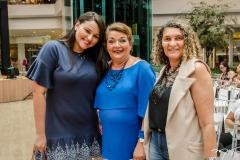 Nayana Agrela, Inês Aparecida e Lúcia Ribeiro