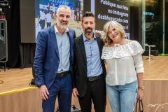 Ricardo Zanardo, Ezequiel Scordamaglia e Márcia Blanque Coll