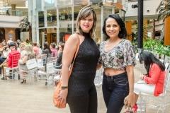 Samantha Moura e Cristina Barbosa