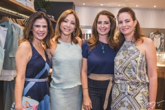 Niedja Bezerra, Ana Paula Daud, Márcia Andréa e Jussara Regás