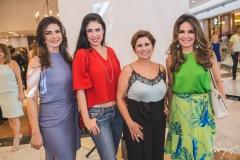 Rachel Teixeira, Mariana Bichucher, Micheline Albuquerque e Eveline Fujita