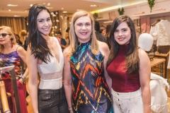 Suzana Rios, Hortência Rios e Cláudia Feitosa
