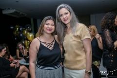 Ivina Marzih e Rachel Siqueira