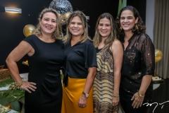Luciana, Clarisse,Cecilia e Ticiana Mota
