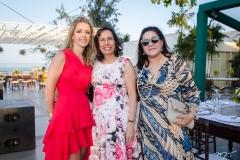 Lívia Holanda, Luciana Andrade e Maria Tereza Serpa