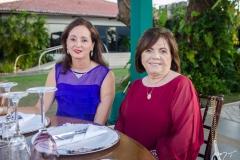 Marília Câmara e Anete Marinho