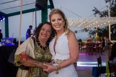 Maria José Weyne e Inês Aguiar