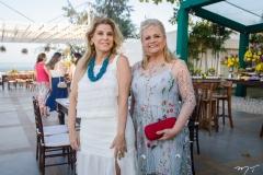 Rosangela de Francesco e Excelsa Costa Lima