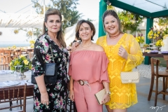 Ticiana Albuquerque, Aurania Oliveira e Paola Barreira