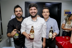 João Filho, Ivan Prado e Rony Sudário