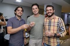 Leonardo Baños, Thiago Lima e Caio Brasil
