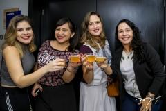 Patrícia Lopes, Eliza Fontes, Rafaela Pontes e Valesca Alves