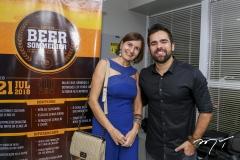 Raquel Cajé e João Filho