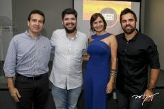 Rony Sudário, Ivan Prado, Raquel Cajé e João Filho