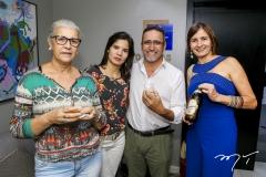 Sandra Diniz, Genne Kelly, Marcos Silva e Raquel Cajé