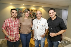 Sérgio Soares, Rejane Arruda, Manoel Oliveira e Wellington Alves