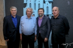 Amarilio e Roberto Macedo, Élcio Batista e Silvio Frota