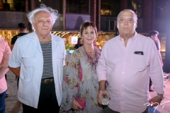 Campelo Costa, Olga Leite Barbosa e Assis Miranda