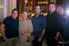 Dito Machado, Paula e Vitor Frota e Thiago Holanda