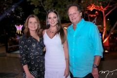 Geni e Fernanda Levy e Huilton Correia Lima