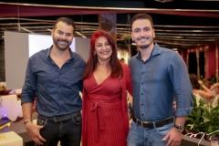 Gerson Munayer, Fernanda Melo e Mailson Távora