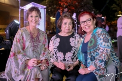 Olga Leite Barbosa, Edyr Rolim e Isabel Araujo