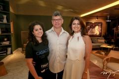 Lais Galvão, Nino Carielo e Luce Galvão