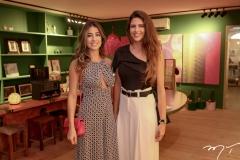 Manoela Linhares e Natalia Benevides