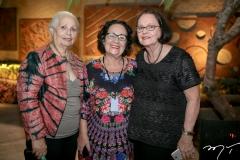 Marcilia Tavares, Nereide Figueiredo e Terry Araujo