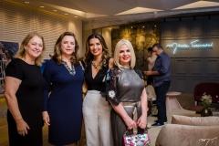 Marize Castelo Branco, Sandra Lazera, Márcia Travessoni e Rejane Oliveira