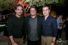 Rodrigo Porto, Diego Studart e Rodrigo Maia