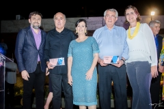 Silvio Frota, Neuma Figueiredo, Roberto Macedo e Manuel Nogueira
