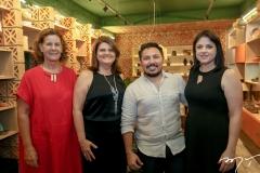 Vera Dessart, Anne Elise Grieser, Marcilio Sousa e Vivian Vieira
