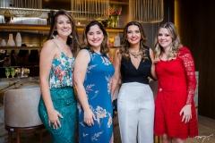 Viviane Ribeiro, Andrea Cerqueira, Márcia Travessoni e Fabiane Tavares