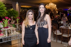 Adriana Queiroz e Iohana Arruda