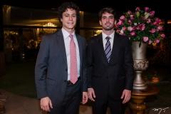 Alan Chusid e Bolivar Gadelha